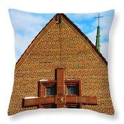 St Patricks Church Throw Pillow