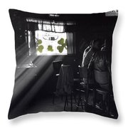 St. Patrick's Day At The Suffern Hotel Throw Pillow