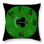 St. Patrick's Day Tournament - Featured In 'cards For All Occasions' Throw Pillow