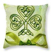 St. Patty's Throw Pillow