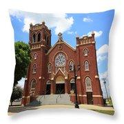 Hamel Illinois - St. Paul's Throw Pillow