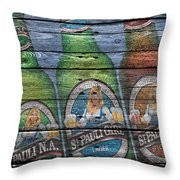 St Pauli Girl Throw Pillow