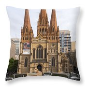 St. Paul's Anglican Cathedral Throw Pillow