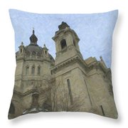 St. Paul's Cathedral Throw Pillow