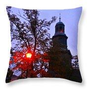 St Pauls Church Halifax Throw Pillow