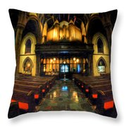 St. Pauls Episcopal Church 01 Throw Pillow