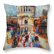 St Paul's From The Millennium Bridge Throw Pillow