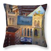 St Pauls Nyc Throw Pillow