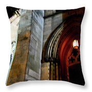 St. Paul's Presbyterian Church Hamilton Ontario  Canada Front View Throw Pillow