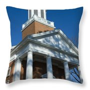 St. Pauls's Memorial Church Charlottesville Throw Pillow