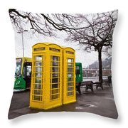 St Peter Port - Guernsey - Impressions Throw Pillow