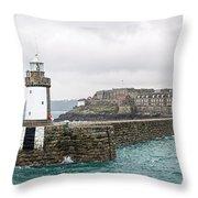 St Peter Port - Guernsey Throw Pillow