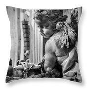 St. Peter's Angel Throw Pillow