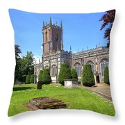 St Peter's Church - Tiverton Throw Pillow