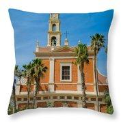 St. Peter's Church In Jaffa Throw Pillow