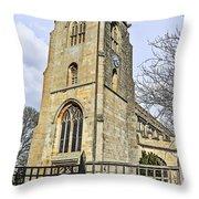 St Peter's Parish Church Throw Pillow
