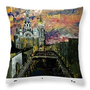 St  Petersburg Russia  Throw Pillow