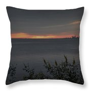 St. Petersburg Sunset Throw Pillow