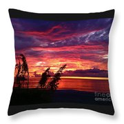 St. Petersburg Sunset Throw Pillow