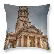 St. Philip's Episcopal Church In Charleston Throw Pillow