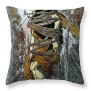 St. Sebastian, From The Martyr Of St Throw Pillow