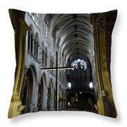 St. Severin Church In Paris France Throw Pillow