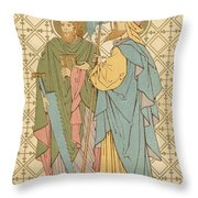 St Simon And St Jude Throw Pillow