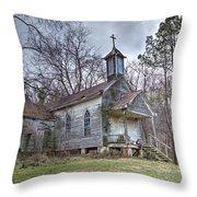 St. Simon's Church Throw Pillow