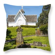 St. Stepen's Chapel Throw Pillow