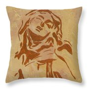 St Teresa Throw Pillow