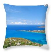 St. Thomas  Throw Pillow