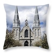 St. Thomas Of Villanova 2 Throw Pillow