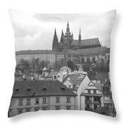 St. Vitus Cathedral Prague Throw Pillow