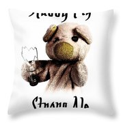 Stabby Pig Strong Ale Throw Pillow