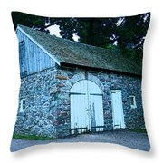 Stables Throw Pillow