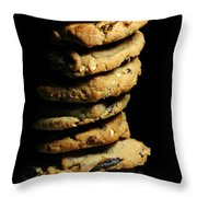 Stack Of Cookies Throw Pillow