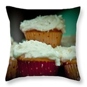 Stacked Delights Throw Pillow
