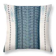 Stacked Housing Throw Pillow