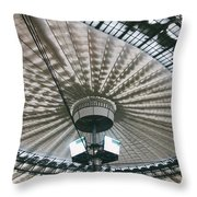 Stadium Ceiling Throw Pillow