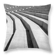 Stadium, Mexico City, 1927 Throw Pillow
