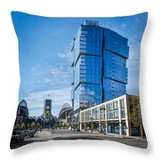 Stadium Place Apartments Throw Pillow