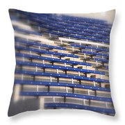Stadium Stalls Throw Pillow