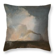 Staffa - Fingal's Cave Throw Pillow