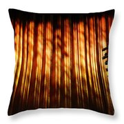 Stage Left Throw Pillow