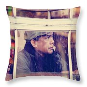 Stage Of Anticipation  Throw Pillow
