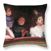 Stage Or Au Theatre Throw Pillow