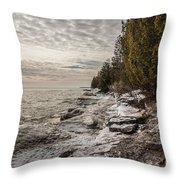 Staggering Shores Throw Pillow