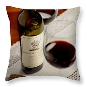 Stags Leap Throw Pillow