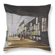 Stained Glass Gallery, From Dickinsons Throw Pillow