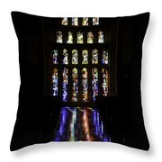 Stained Glass II Throw Pillow